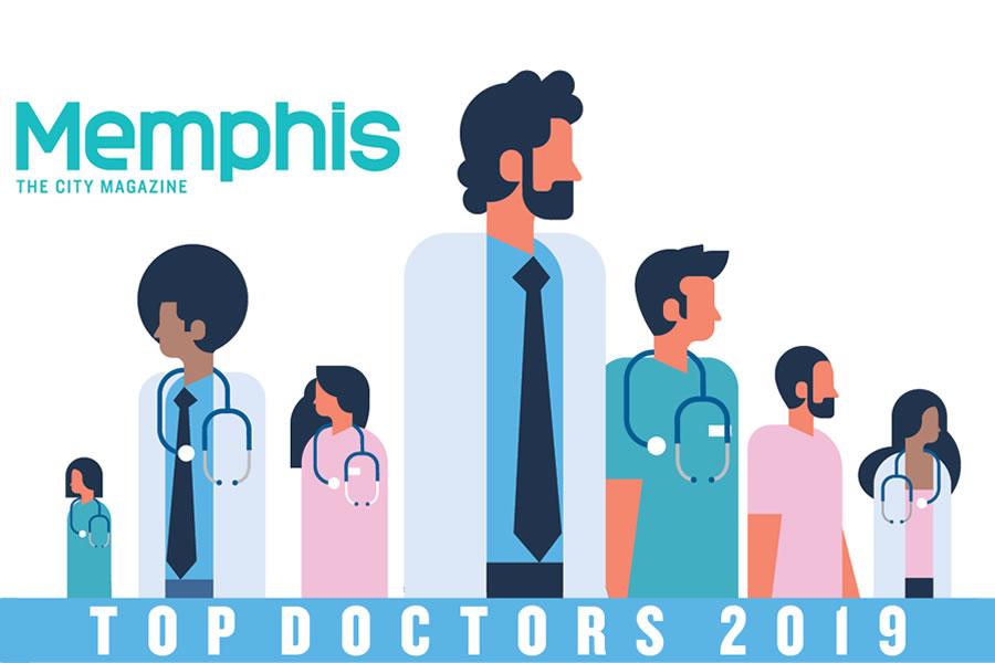 Memphis City MagazineTop Doctors 2019 - Kenan Arnautovic