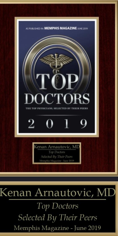 Memphis top doctor - Kenan Arnautovic