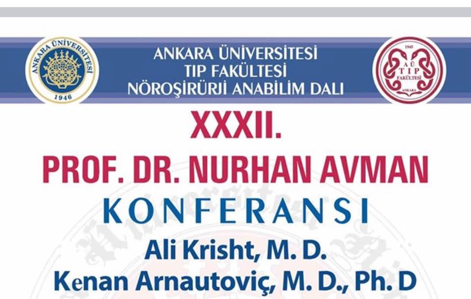 32nd Annual Lectureship- Department of Neurosurgery Ankara University