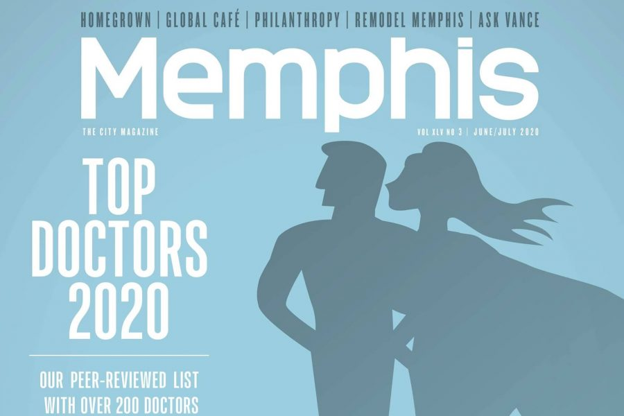 Memphis magazine - top doctors 2020
