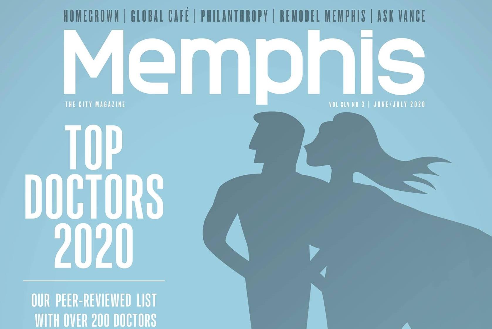 Memphis magazine - top doctors 2020