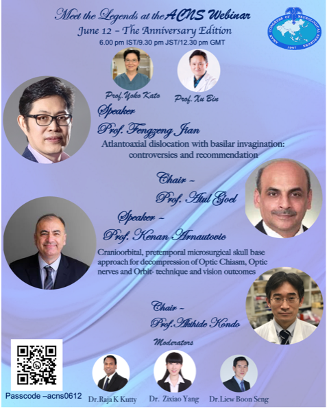 Invited Speaker on Asian Congress of Neurosurgeons
